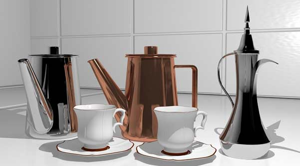 how to organise the tean and coffee making area in your kitchen